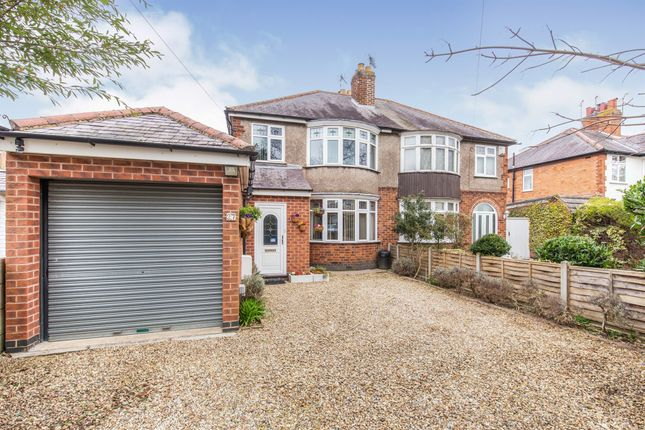 Thumbnail Semi-detached house for sale in Granville Road, Wigston