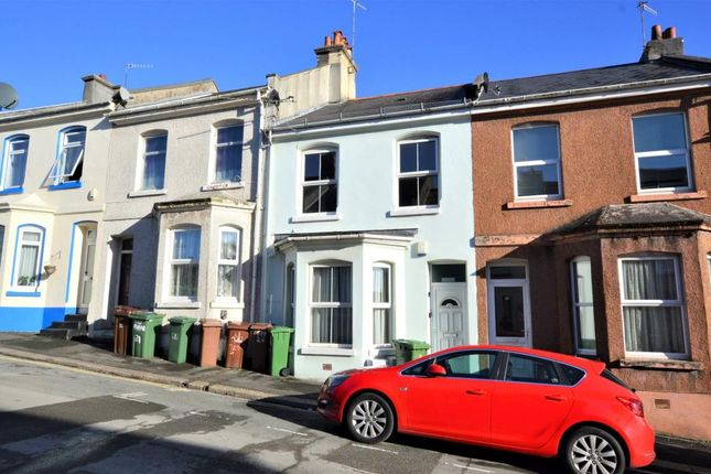 Thumbnail Terraced house for sale in Wake Street, Plymouth, Devon