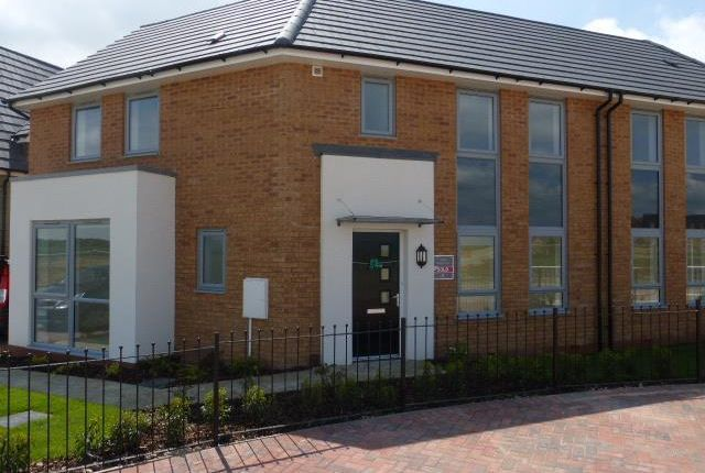 Thumbnail Semi-detached house to rent in Park View, Weldon, Corby