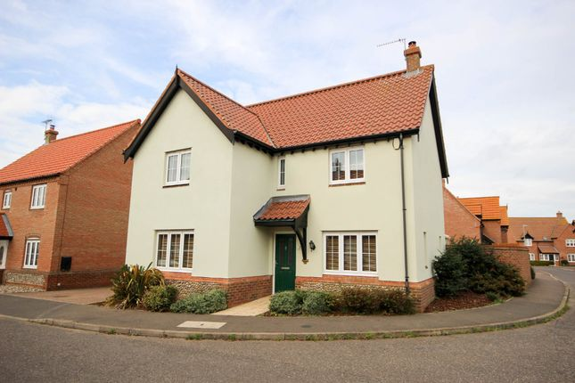 Thumbnail Detached house for sale in Stable Field Way, Hemsby, Great Yarmouth