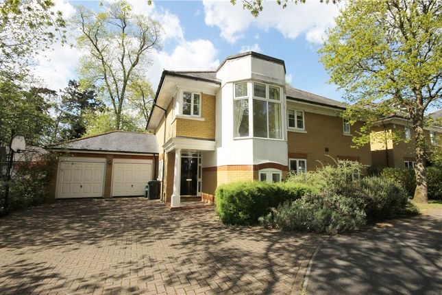 Thumbnail Detached house for sale in St David's Drive, Englefield Green, Surrey