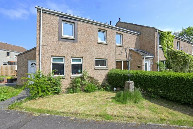Thumbnail End terrace house for sale in 43 North Bughtlinside, East Craigs, Edinburgh