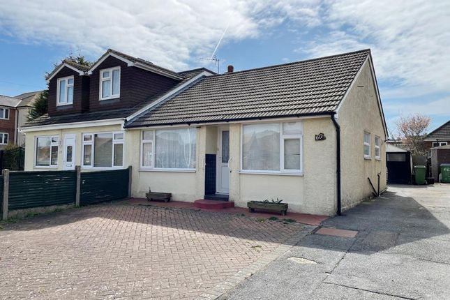 2 bed semi-detached bungalow for sale in 60 Shaftesbury Avenue, Cheriton, Folkestone, Kent CT19