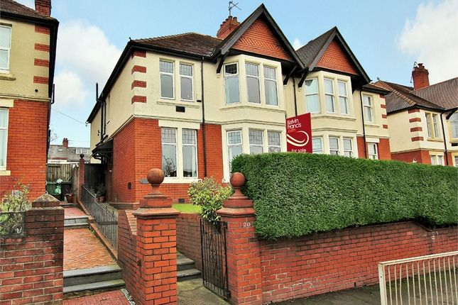 Thumbnail Semi-detached house for sale in Cyncoed Road, Cyncoed, Cardiff