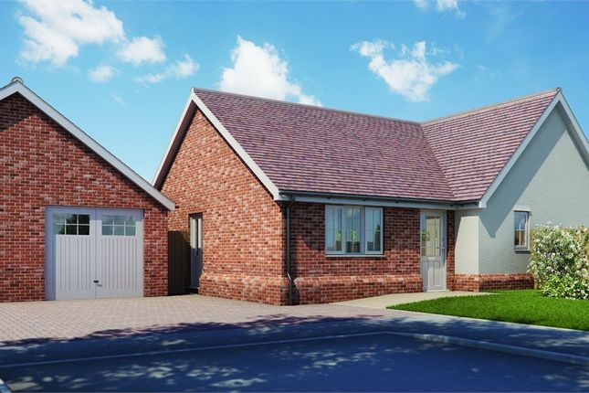 Thumbnail Detached bungalow for sale in Plot 7 'old Stables', Walton Road, Kirby-Le-Soken, Frinton-On-Sea, Essex