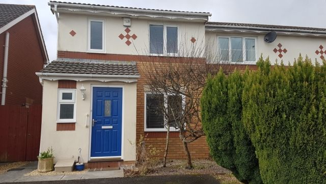 Thumbnail End terrace house to rent in Howards Way, Gorseinon