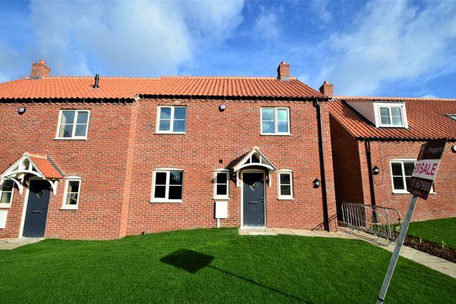 Thumbnail Semi-detached house for sale in Plot 4 Wesleyan Court, Chapel Lane, Everton