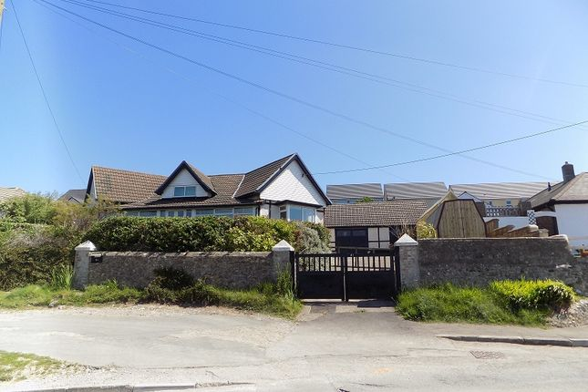 Thumbnail Detached bungalow for sale in Main Road, Ogmore-By-Sea, Bridgend.