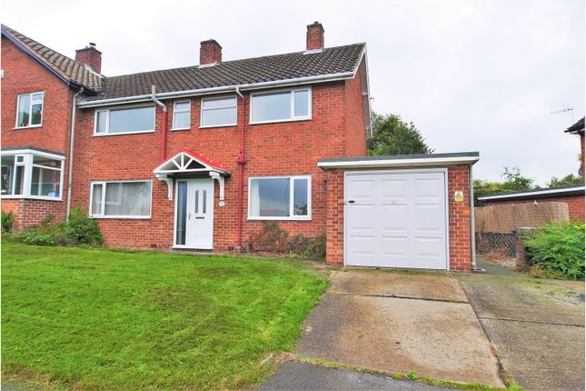 Thumbnail Semi-detached house for sale in Peak View Road, Chesterfield