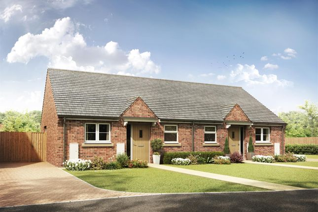Thumbnail Semi-detached bungalow for sale in Plot 2, The Leafield, Lime Grove, Norton, Glos