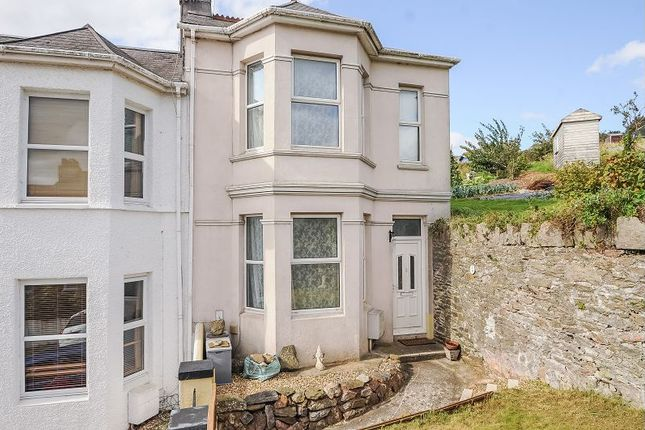 Thumbnail End terrace house for sale in Bute Road, Mannamead, Plymouth
