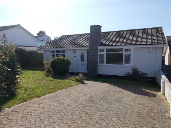 Thumbnail Detached bungalow to rent in Bodrigan Road, Looe