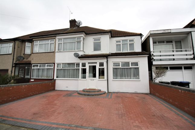 Thumbnail End terrace house for sale in Woodcote Close, Enfield