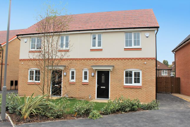 Thumbnail Semi-detached house to rent in Weaver Plot 186 Mossborough, Highfield Green, Kirkby