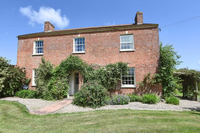 Thumbnail Detached house for sale in Higher Road, Chedzoy, Bridgwater