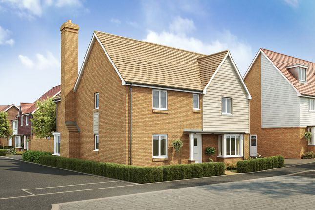 "Thumbnail Detached house for sale in ""Layton"" at Langmore Lane, Lindfield, Haywards Heath"