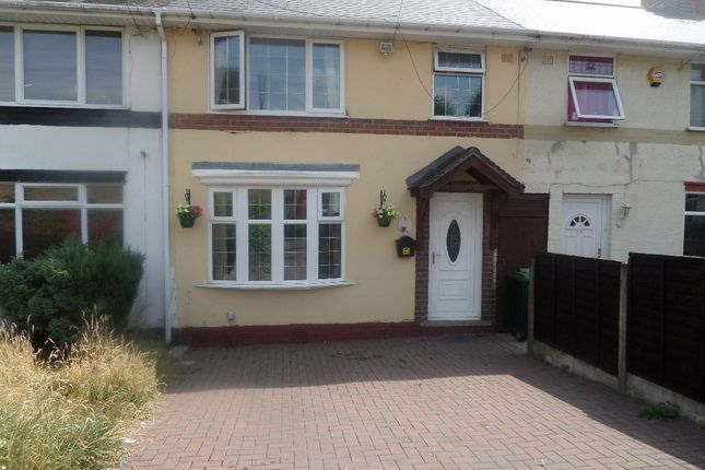 Thumbnail Town house to rent in Pavilion Avenue, Smethwick