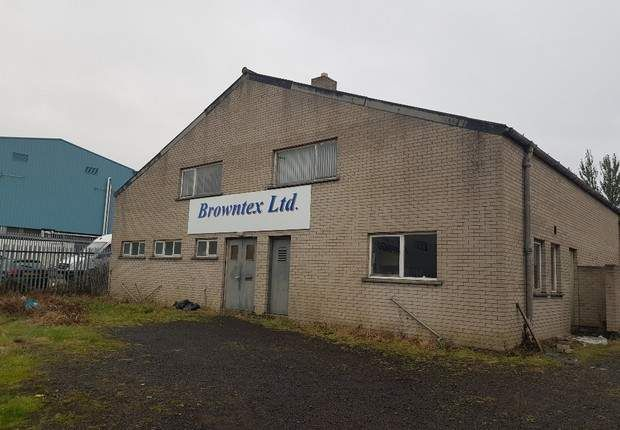 Thumbnail Warehouse for sale in Steeple Road Industrial Estate, Antrim, County Antrim