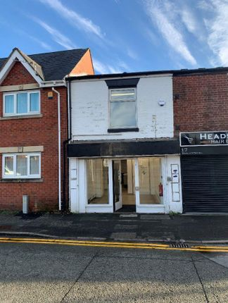 Thumbnail Retail premises for sale in 19 Manchester Road, Warrington, Cheshire