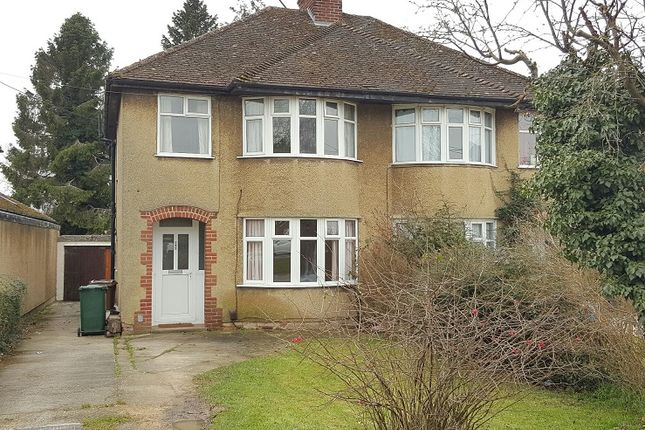 Thumbnail Semi-detached house to rent in Oxford Road, Oxford