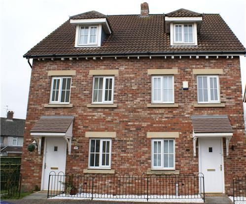 Thumbnail Town house for sale in Adams Land, Coalpit Heath, Bristol
