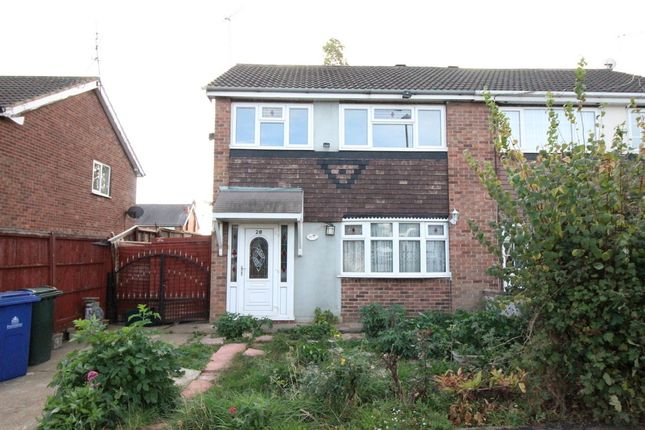 Thumbnail Semi-detached house for sale in Cambourne Close, Adwick-Le-Street, Doncaster