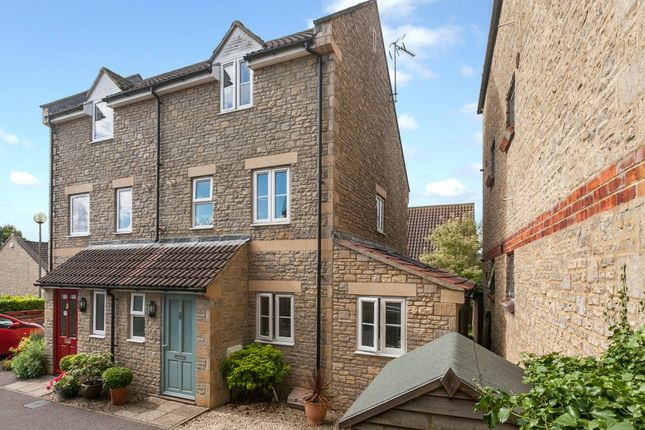 Thumbnail Town house for sale in Porters Mead, Corsham