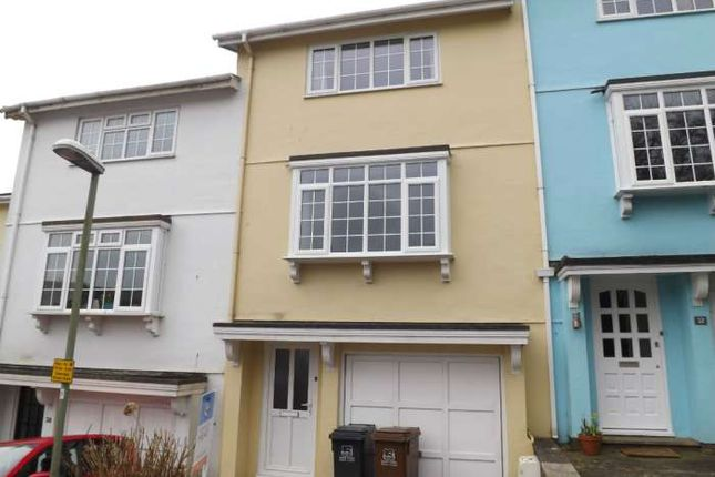 Thumbnail Terraced house to rent in Knowle House Close, Kingsbridge