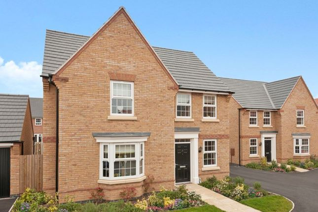 "Thumbnail Detached house for sale in ""Bradbury"" at Claudius Road, North Hykeham, Lincoln"