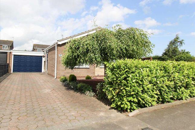 Thumbnail 3 bed bungalow for sale in Totnes Drive, Parkside Grange, Cramlington