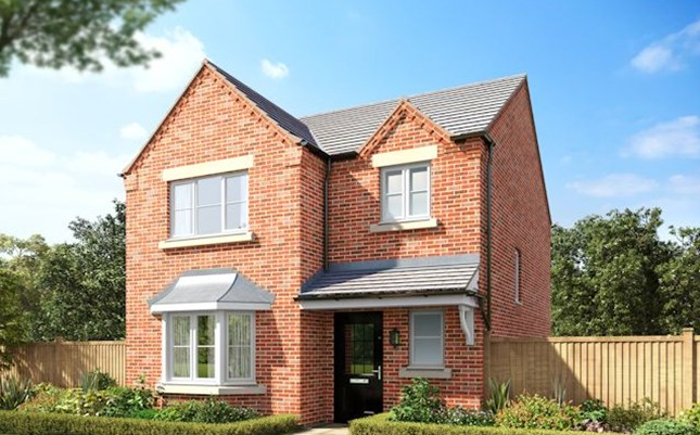 Thumbnail Detached house for sale in The Dunham 2, William Nadin Road, Swadlincote, Derby