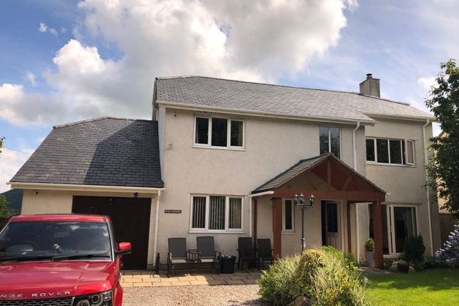 Thumbnail 4 bed detached house for sale in Conway Road, Tal-Y-Bont, Conwy