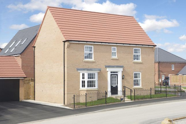"Thumbnail Detached house for sale in ""Layton"" at Dunbar Way, Ashby-De-La-Zouch"