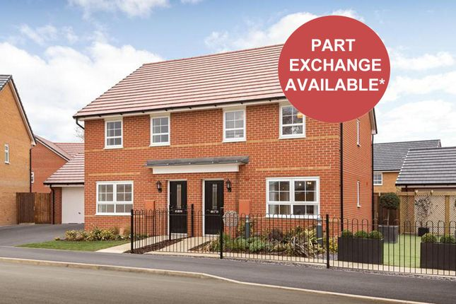 """Thumbnail Semi-detached house for sale in """"Maidstone"""" at Musselburgh Way, Bourne"""