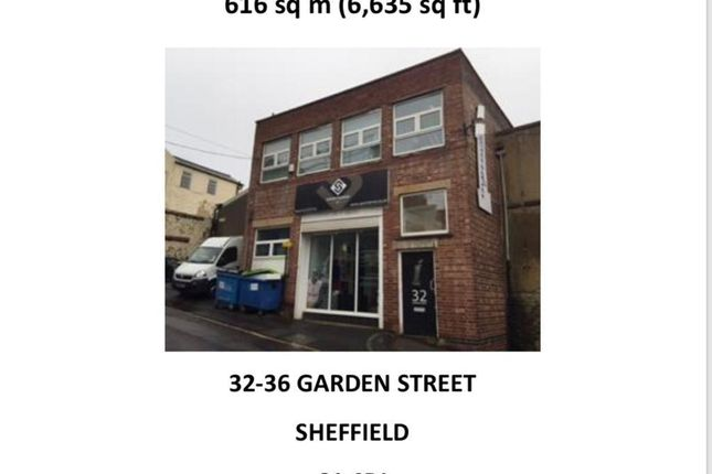 Thumbnail Detached house to rent in Garden Street, Sheffield