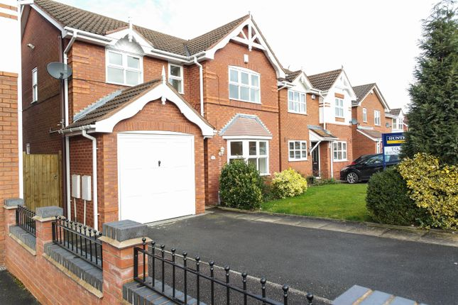 Thumbnail Detached house to rent in Amelia Close, Stoke On Trent, Staffordshire