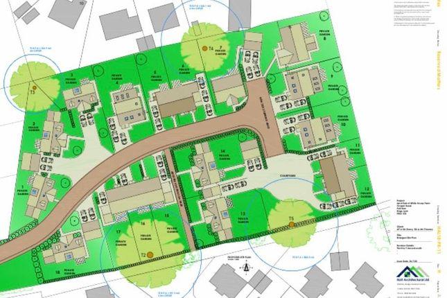 Thumbnail Land for sale in Chapel Road, Pott Row, King's Lynn