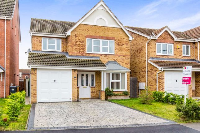 Thumbnail Detached house for sale in Wakelam Drive, Armthorpe, Doncaster
