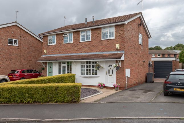 Thumbnail Semi-detached house for sale in Cardigan Grove, Trentham, Stoke-On-Trent