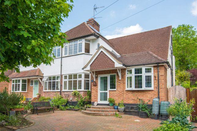 Thumbnail Semi-detached house for sale in Whitelands Avenue, Chorleywood, Rickmansworth, Hertfordshire