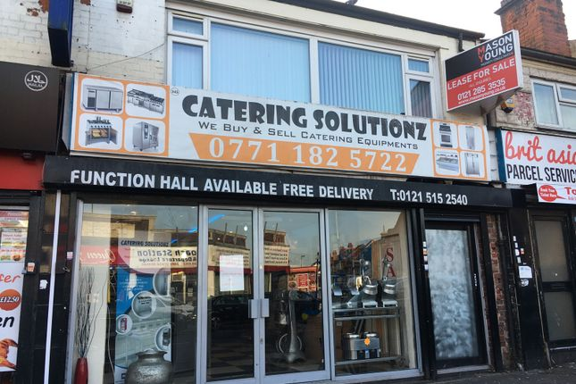 Thumbnail Retail premises for sale in 345 Soho Road, Handsworth