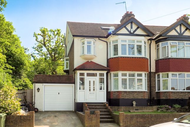 Thumbnail Semi-detached house for sale in Lytton Gardens, Wallington