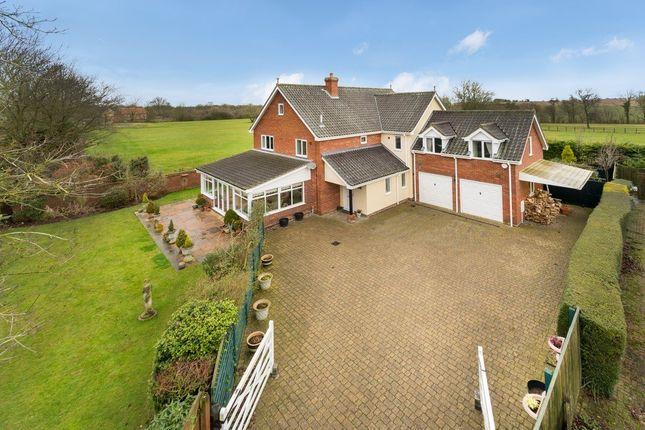 Thumbnail Detached house for sale in Mill Street, Gislingham, Eye
