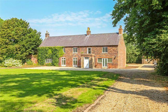Thumbnail Detached house for sale in Manor Farmhouse, East End, Kirmington, Ulceby