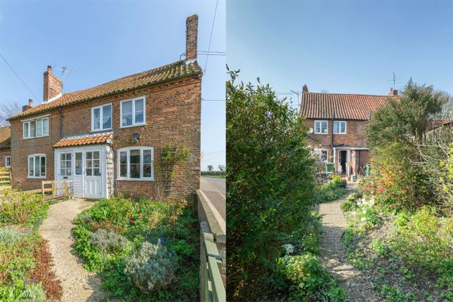 Thumbnail Semi-detached house for sale in Syderstone, King's Lynn