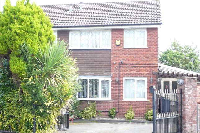 Thumbnail Semi-detached house for sale in Meon Way, The Oaklands, Wednesfield, Wednesfield