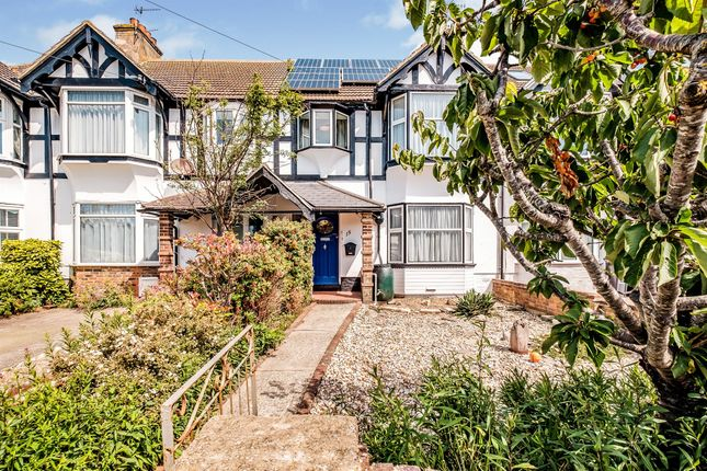 Terraced house for sale in Malvern Close, Worthing