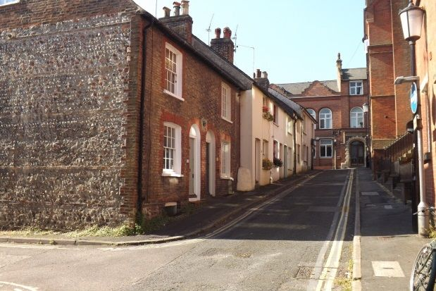Thumbnail End terrace house to rent in St. John Street, Lewes