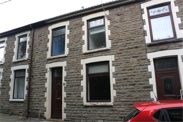Thumbnail Terraced house to rent in Railway View, Williamstown, Tonypandy, Rhondda Cynon Taff.