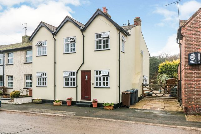 Thumbnail End terrace house for sale in Buntingford Road, Puckeridge, Ware